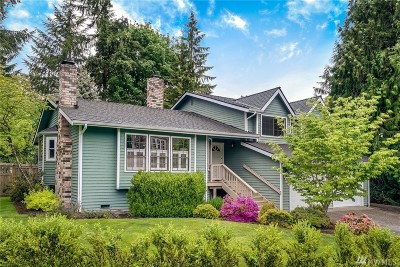 Sammamish Single Family Home For Sale: 21124 NE 42nd St