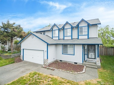 Spanaway Single Family Home For Sale: 8613 204 St E