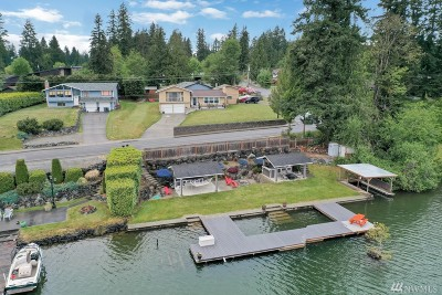 Bonney Lake Single Family Home For Sale: 6701 West Tapps Hwy E
