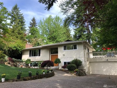 Bellevue Single Family Home For Sale: 15428 SE 21st