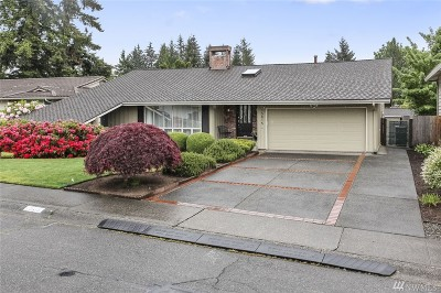 Renton Single Family Home For Sale: 15815 SE 171st Place