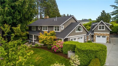 Yarrow Point Single Family Home For Sale: 3610 92nd Ave NE