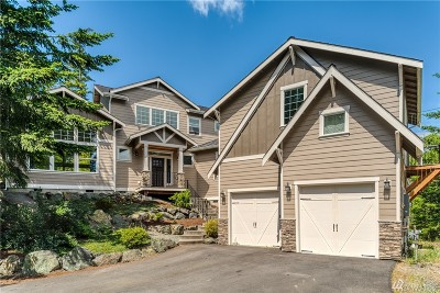 Anacortes Single Family Home Pending: 11871 Sunrise Plateau Dr