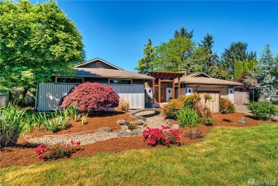 Olympia Single Family Home Pending Inspection: 6021 Boulevard Ext Rd SE