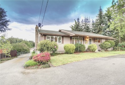Puyallup Single Family Home For Sale: 9501 Woodland Ave E