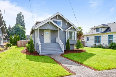 Auburn Single Family Home For Sale: 112 E St SW