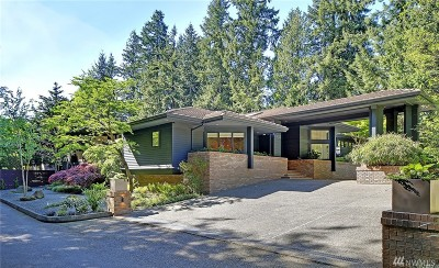 Medina Single Family Home For Sale: 1237 Evergreen Point Rd
