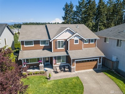 Puyallup Single Family Home For Sale: 18509 87th Av Ct E