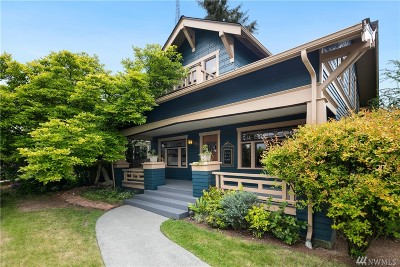 Seattle Single Family Home For Sale: 103 Garfield St