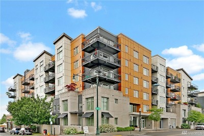 Burien Condo/Townhouse For Sale: 15100 6th Ave SW #436
