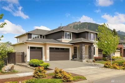 North Bend WA Single Family Home For Sale: $855,000