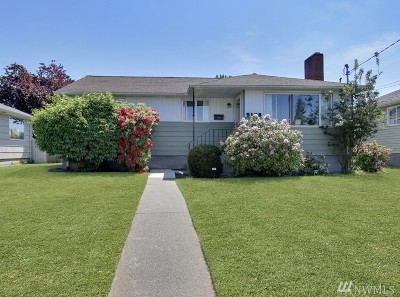 Tacoma Single Family Home For Sale: 5126 N 27th St