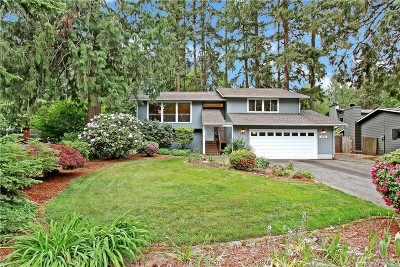 Woodinville Single Family Home For Sale: 19602 NE 162nd St