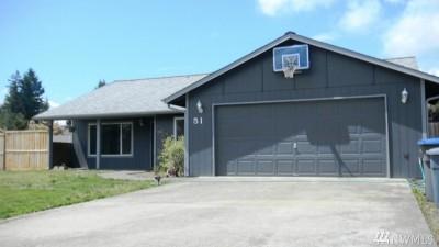 Mason County Single Family Home Pending Inspection: 51 NE Kathy's Dr