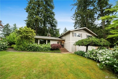 Olympia Single Family Home Pending: 3212 Fairview St SE