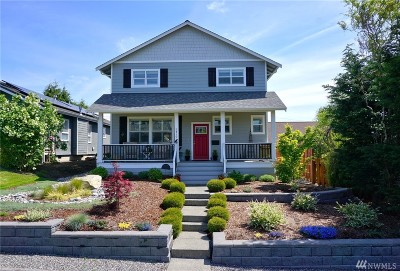 Bellingham Single Family Home For Sale: 2412 Franklin St