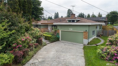 Lynnwood Single Family Home For Sale: 4430 211th St SW