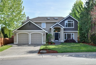 Sammamish Single Family Home For Sale: 23821 NE 24th Place