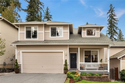 Bothell Single Family Home For Sale: 13 166th Place SE