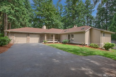 Woodinville Single Family Home For Sale: 14464 156th Ave NE