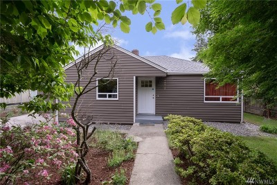 Burien Single Family Home For Sale: 12460 3rd Ave SW
