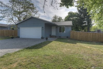 Tenino Single Family Home Pending Inspection: 159 McClellen St SE