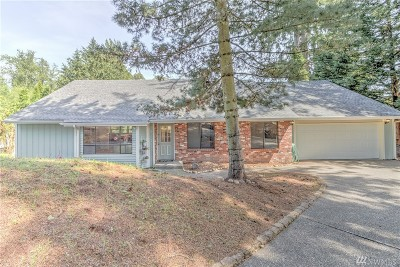 Olympia Single Family Home For Sale: 1622 Mill Dr SE