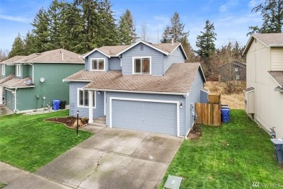 Spanaway Single Family Home For Sale: 1425 186th St Ct E