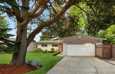 Bellevue Single Family Home For Sale: 1638 172nd Ave NE