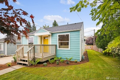 Seattle Single Family Home For Sale: 3721 SW Thistle St