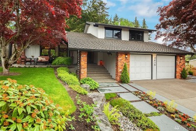 Bellevue Single Family Home For Sale: 4639 150th Place SE