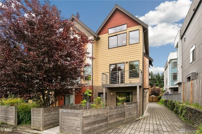 Seattle Single Family Home For Sale: 825 NW 97th St #C