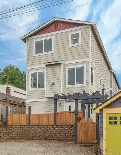 Seattle Single Family Home For Sale: 150 W Florentia St #B