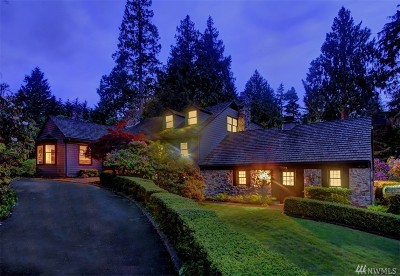 Snohomish County Single Family Home For Sale: 22819 Woodway Park Rd