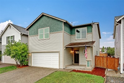 Port Orchard Single Family Home For Sale: 2754 SW Jabirin Wy