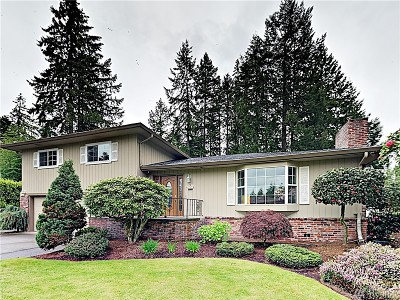 Olympia Single Family Home Pending Inspection: 9519 Joann Ave NE