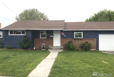 Moses Lake WA Single Family Home For Sale: $167,500