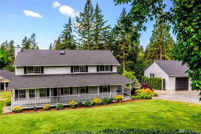 Edgewood Single Family Home For Sale: 9721 31st St E