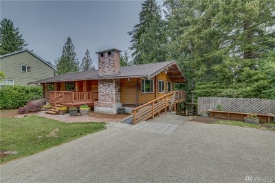 King County Single Family Home For Sale: 38046 SE 88th Street