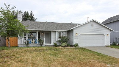 Yelm Single Family Home Pending Inspection: 9828 Ramsay Dr SE
