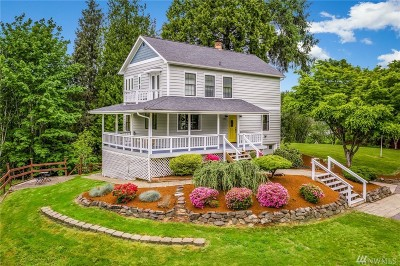 Bothell Single Family Home For Sale: 5512 W Interurban Blvd