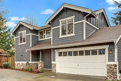Kirkland Single Family Home For Sale: 11610 NE 87th Lane