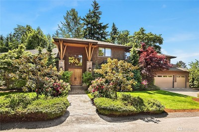 Mercer Island Single Family Home For Sale: 7404 78th Ave SE
