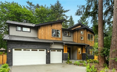Mercer Island Single Family Home For Sale: 4632 89th Ave SE
