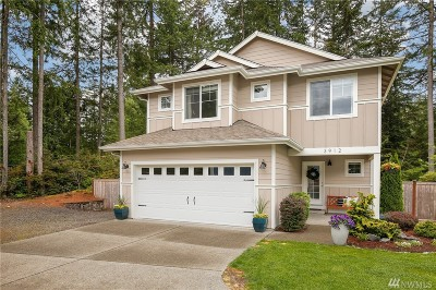 Gig Harbor Single Family Home For Sale: 3912 131st St Ct NW
