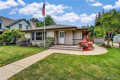 Issaquah Single Family Home For Sale: 405 SE Bush St