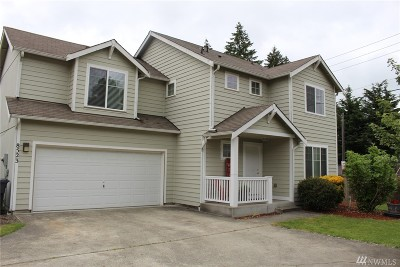 Puyallup Single Family Home For Sale: 8523 160th St Ct E