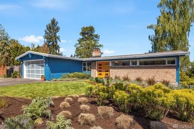 Mercer Island Single Family Home For Sale: 7660 SE 40th St