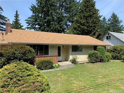 Tacoma Single Family Home For Sale: 707 142nd St S