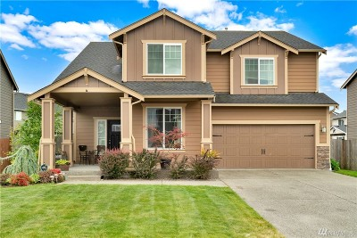 Orting Single Family Home For Sale: 206 Balmer St SW
